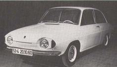 OG   1961 Volkswagen / VW EA53   Prototype