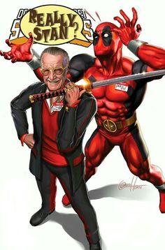 #Deadpool #Fan #Art. (Deadpools Secret Wars #1 Rare Stan Lee  Color Variant) By: Greg Horn.  (THE * 5 * STÅR * ÅWARD * OF: * AW YEAH, IT'S MAJOR ÅWESOMENESS!!!™)[THANK U 4 PINNING!!!<·><]<©>ÅÅÅ+(OB4E)