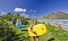 Heading down to the beach to catch some waves #ChristopheHarbour #StKitts www.christopheharbour.com