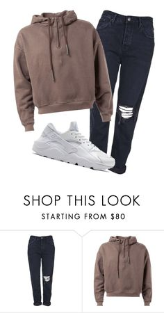 """""""3.4.16"""" by lexytj3 ❤ liked on Polyvore featuring Topshop and NIKE"""