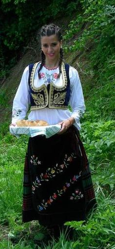 Traditional Serbian Dress