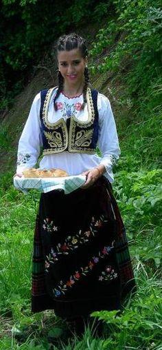 Traditional Serbian Dress