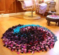 Como fazer tapete de retalhos