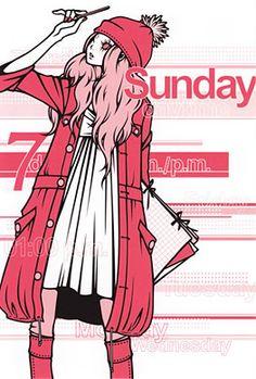 ワカマツカオリ ポストカード No.060 - FEWMANY ONLINE SHOP