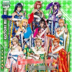 Shop for cheap japanese anime clothes, cosplay of anime and cosplay costumes sydney at factory prices. love live! all member honoka kotori umi eli nozomi maki rin hanayo nico new year kimono awaken cosplay costume can be purchased with a large variety of choices provide by pinkcolor in fine quality.