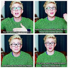 SLAY QUEEN TYLER OAKLEY, quotes from him make me so happy
