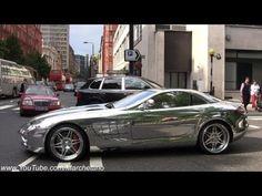 CHROME Mercedes SLR Mclaren Brabus - YouTube