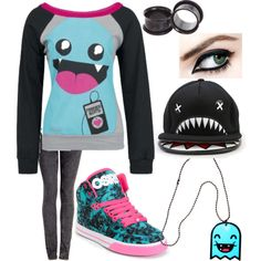"""Monster Beats"" by mydeadlydreams on Polyvore"