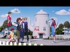 GU プリーツスカート「アラレがスカート!?」篇 - YouTube