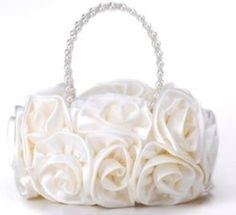 Without a bridal handbag where could you have a place to wipe away the tears of joy. Many reasons to have a bridal purse, small handbag and even a tote bag. Ivory Wedding, Wedding Shoes, Wedding Bags, Bridal Handbags, Wedding Crafts, Wedding Decorations, Small Handbags, Rose Bouquet, Wedding Bridesmaids