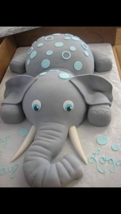 Great cake for boy baby shower!