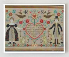 cross stitch patterns : Love Never Fails by thecottageneedle