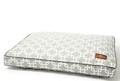 Jax and Bones Marine Rect Pillow Dog Bed, Gray on OneKingsLane.com