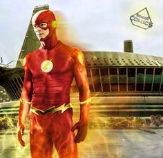 The flash CW new suit by SavageComics