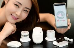 LG Electronics Inc. on Monday showcased five different Internet-of-Things (IoT) sensors that can be utilized at homes, in line with the company's push to build up its latest technology.