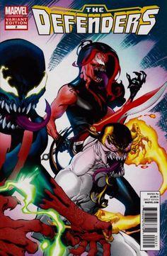 The Defenders #2 Venom Variant Cover by Chris Stevens