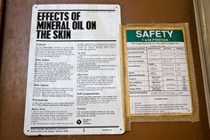 Oil Safety