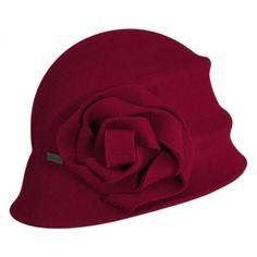 Alexandrite Cloche Hat Cloche & Flapper Hats at Village Hat Shop