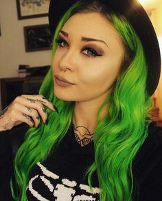 Iris Green && Neon Green
