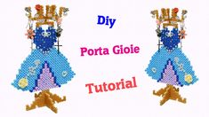 Vestitino Porta Gioie con Hama Beads | Pyssla DIY Tutorial ✿ - YouTube