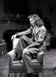Kate Hepburn, style icon