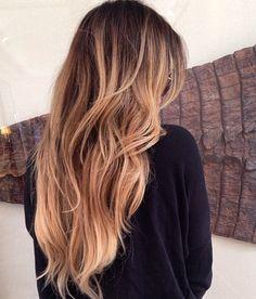 Khloe Kardashian. How i want my hair, when it's much longer whan now