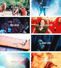 Narnia, Percy Jackson, The Mortal Instruments, Twilight, Divergent, The Hunger Games, Harry Potter, The Lord of the Rings