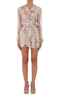 We Adore: The Winsome Ruffle-Trimmed Romper from Zimmermann at Barneys New York