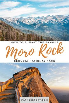 It might be tough but it's worth every step! Check out the our guide to Hiking Moro Rock Trail for sweeping views from the top of Sequoia's most famous rock.