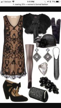Vintage Fashion Gorgeous The Great Gatsby inspired outfit. This outfit would make THE PERFECT murder mystery costume! Roaring 20s Fashion, Great Gatsby Fashion, Great Gatsby Outfits, Great Gatsby Style, Great Gatsby Party Dress, Gatsby Outfit Ideas, 1920s Fashion Party, Roaring 20s Outfits, 1920s Inspired Fashion