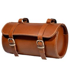 Leather Bicycle bag.