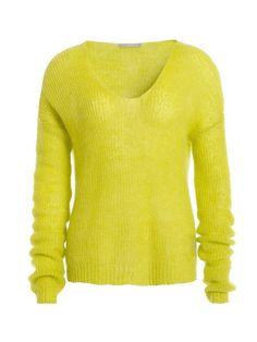 TUZZI Perlfang Pullover für 69,99€. ultra leicht und soft, Badge Detail, VoKuHiLa-Silhouette: vorne kurz-hinten lang, loose gestrickt bei OTTO