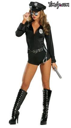 Lady Cop Costume, Lady's Cop Halloween Costume, Woman Cop Costume, Women Halloween Cop Costume