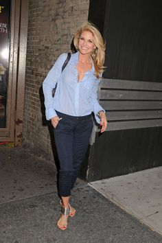 "Christie Brinkley Photo - Christie Brinkley at the Ambassador Theatre to perform in Broadway ""Chicago"" in NYC June 2011"