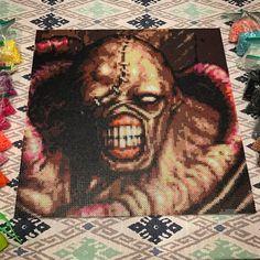 Nemesis Resident Evil by lgr_perler