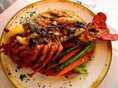 Cape Arundel Inn lobster