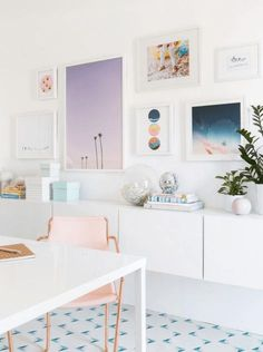 AD Aesthetic • Blush office inspiration