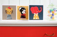 Marionette og Little Wonders børnekort og spisesæt fra Darling Clementine - WhatWeDo Copenhagen