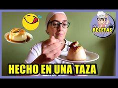 DELICIOSO FLAN EN MICROONDAS!!! En 3 MINUTOS! - YouTube