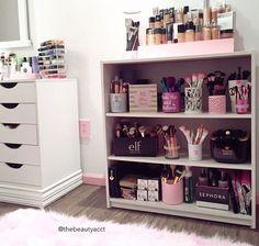 Ideas para organizar el maquillaje que no tengo