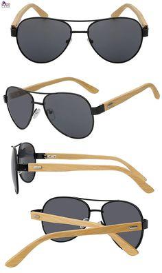 c631efe3c7b Aviator Wooden Sunglasses Aviator Wooden Sunglasses. Loot Lane. Wooden SunglassesRetro  SunglassesMens SunglassesVintage ...
