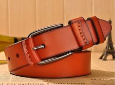 New belt men's genuine leather belt men and women leisure real leather buckle belts classics America and Europe men's belt