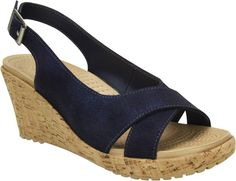 63a71b7c30c7 Crocs A-leigh Shimmer Leather Wedge