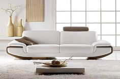 Divani Design, White Sofa Set, Sofa Styling, Sofa Furniture, Sofa Design, Contemporary Furniture, Mid-century Modern, Sweet Home, Mid Century