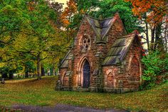 Oakwood Cemetery- Troy, NY.  Joan: Remember when we saw this?  So beautiful. (6/8/14)