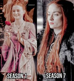 Sansa looks actually quite cool in season 7