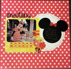 Meeting Minnie - Scrapbook.com