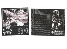 13 CANDLES- COME OUT OF THE DARK  PROMO CD + ORIGINAL FLYERS