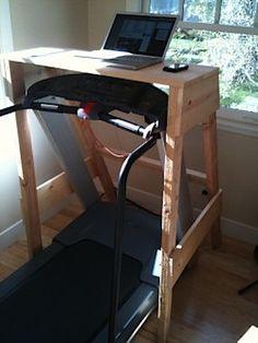 why not?: d-i-y treadmill desk - Improvised Life