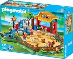 Playmobil - 4851 - Jeu de construction - Parc animalier avec famille: Amazon.fr: Jeux et Jouets